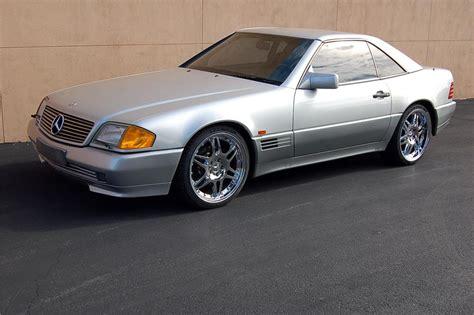 1991 Mercedes Sl500 1991 Mercedes Sl500 Convertible Barrett Jackson