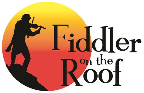 on the roof fiddler on the roof logo bellevue christian schools