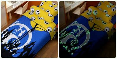 Sprei Kintakun Glow In The Baju Anak Cantik Order 085715599144