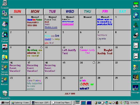 Calendar Template Wordpad Freeware Calendar Template For Word Pad
