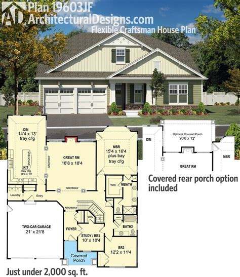10 Images About Small Medium Houses On Pinterest Bungalow House Plans With Garage In Back
