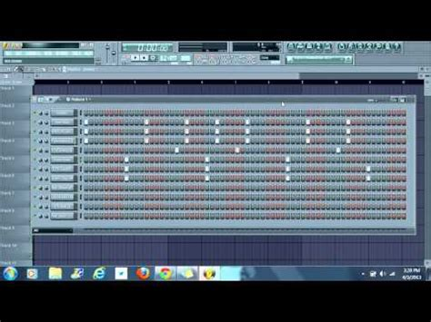 fl studio drum pattern tutorial free flp fl studio edm trap loud hill vacation doovi