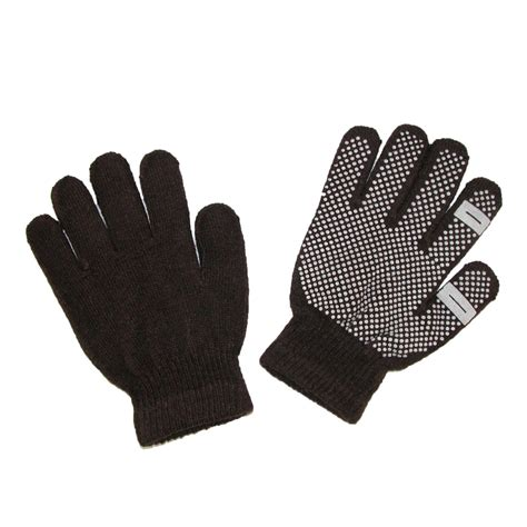 knit gloves womens grip knit texting winter gloves by ctm beltoutlet