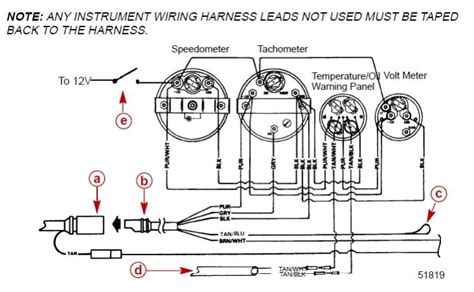 johnson outboard tachometer wiring diagram mercury 70 hp