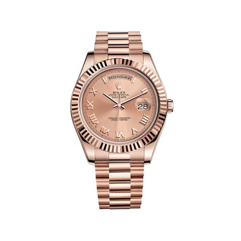 Rolex Ls20 Rosegold rolex day date ii 218235 gold pink world s best