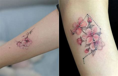 cherry blossom tattoo meaning designs ideas and much more