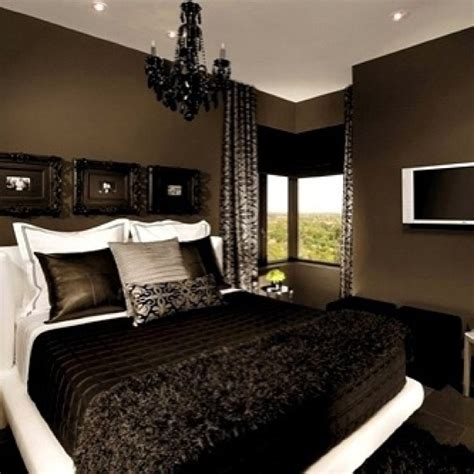 brown bedrooms ideas stunning penthouse apartment in bedroom black