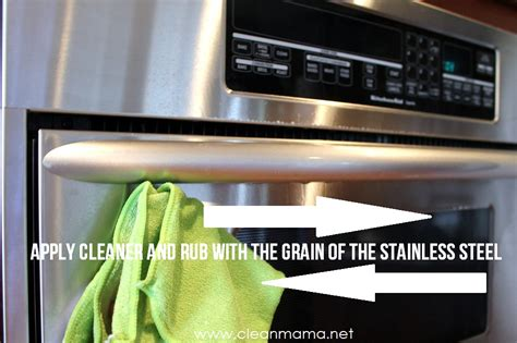 how to polish stainless steel natural cleaner for stainless steel fridge diydry co