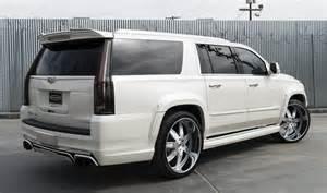Customized Cadillac Escalade Custom Cadillac Escalade By Forgiato
