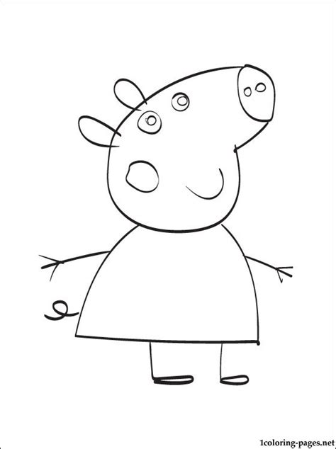peppa pig mummy coloring pages mummy pig coloring page coloring pages