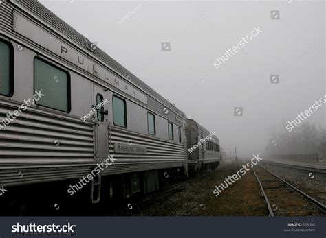 Pullman Sleeper by Pullman Railroad Sleeper Cars Fog Stock Photo 515080