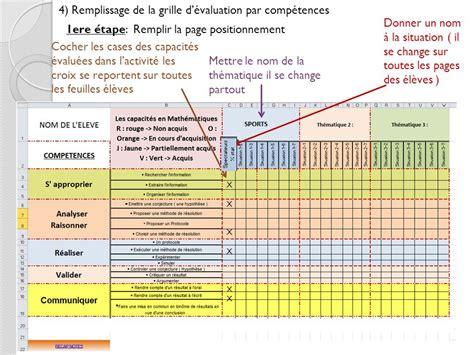 Grille évaluation Compétences by Exemple D 233 Valuation Pour La Formation Par Comp 233 Tences