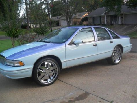 how to sell used cars 1993 chevrolet caprice classic engine control find used 1993 chevrolet caprice classic sedan 4 door 5 0l in jackson mississippi united states