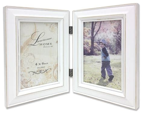 Bathroom Mirrors White Frame by Lawrence Frames Weathered White Wood 4x6 Picture Frames