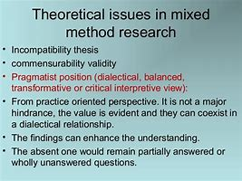 Image result for what is the incompatibility thesis in research