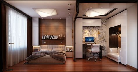 Mens Studio Apartment Ideas Id 233 Es Pour D 233 Corer Une Chambre 224 Coucher Masculine