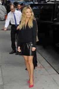 kate hudson in black leather mini skirt 22 gotceleb