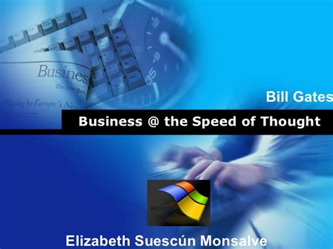 bill gates biography ppt free download business the speed of thought
