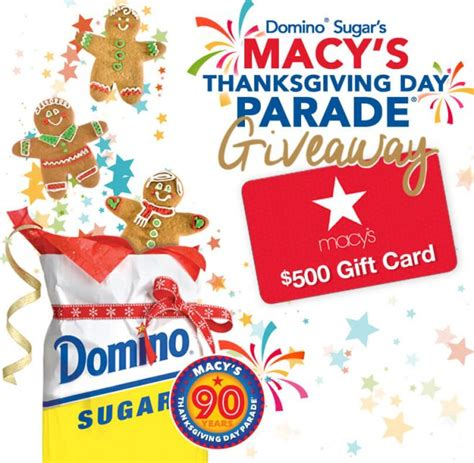 Thanksgiving Gift Card Giveaway - sweepstakeslovers daily travel channel imperial sugar company domino sugar more
