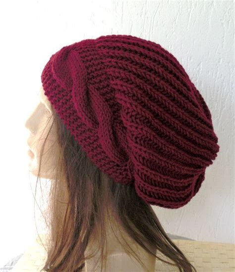 knit hat my fav slouchy style hat yet maybe not