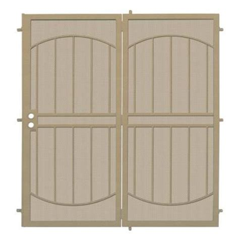Security Patio Doors Home Depot by Unique Home Designs Arcada Patio 72 In X 80 In Steel
