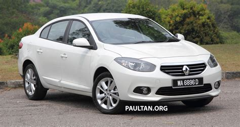 renault malaysia renault fluence 2 0 reviewed in malaysia