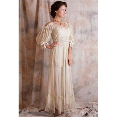 Empire Style Wedding Dresses by Vintage Style Empire Waist Wedding Dress