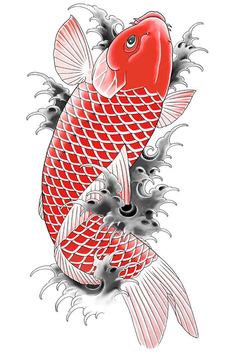 yakuza tattoo fish 30 koi tattoo design and displacement ideas the xerxes