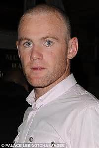 wayne rooney shows off the results of second hair short haircut with shaving style for men from wayne rooney