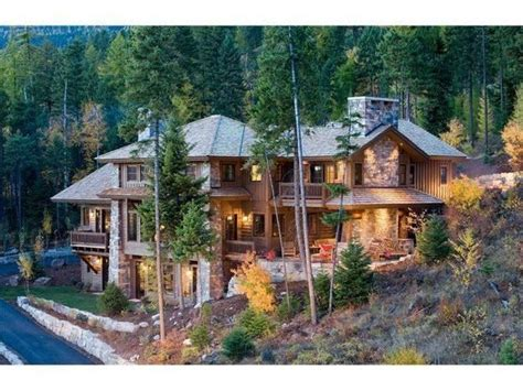 montana houses for sale whitefish montana homes extravagant homes pinterest