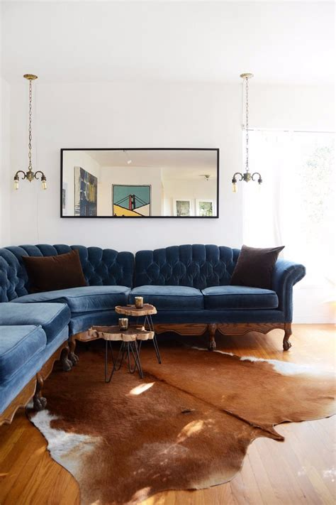 living room fur rugs to elevate your interior design