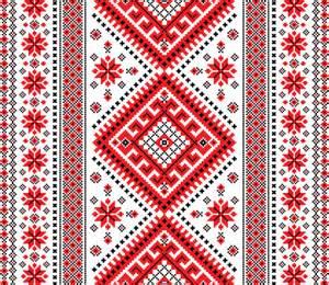 ukraine pattern vector ukrainian styles embroidery patterns vector set free