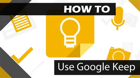 what to keep how to use google keep youtube