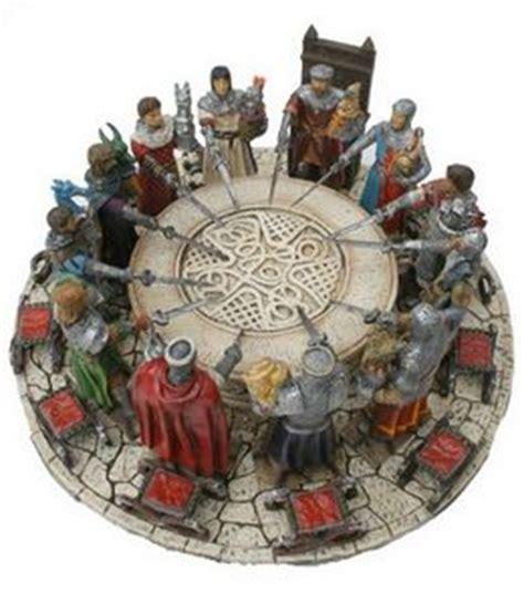 les 12 principaux chevaliers de la table ronde les figurines de chevaliers et du moyen age