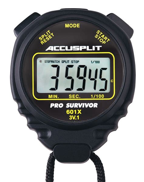 Original Kenmaster Stop Kontak Timer 24 Hours accusplit pro survivor a601x stopwatch clock large