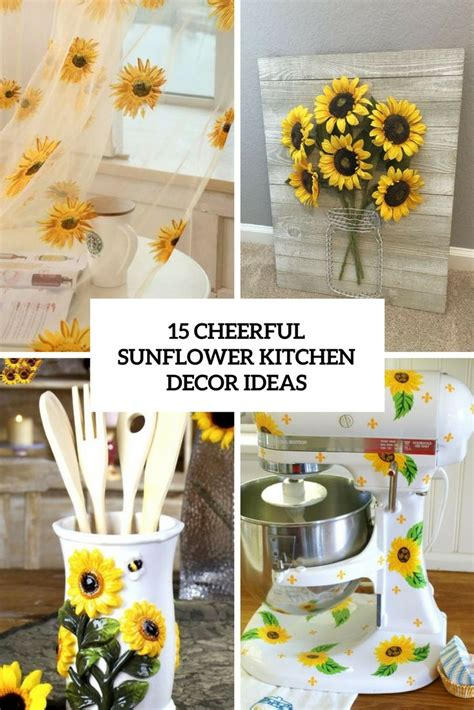 sunflower kitchen ideas best 25 sunflower kitchen decor ideas on pinterest