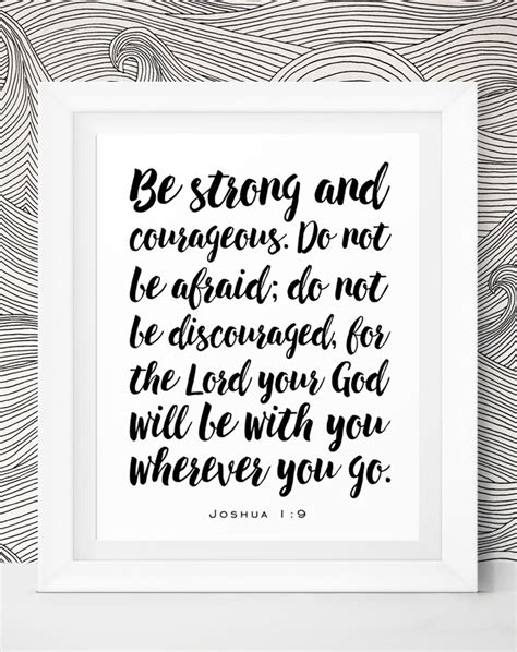 fathers day scriptures fathers day ideas joshua 1 9 be strong and courageous