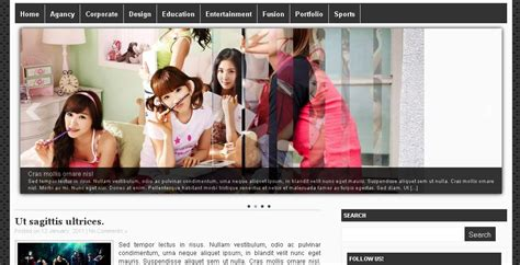 wordpress themes free image slider 30 free wordpress themes with brilliant image sliders