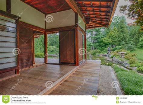 bedroom porch and deck overlooking the peace and tranquility of stock photo image 42040194