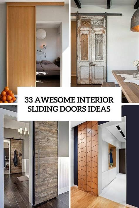 Interior Sliding Door Design Ideas 33 Awesome Interior Sliding Doors Ideas For Every Home Digsdigs