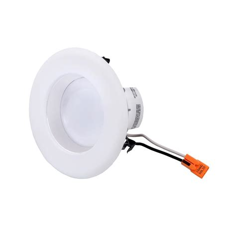 Envirolite Easy Up 4 In Warm White Led Recessed Light Led Recessed Lighting Bulbs