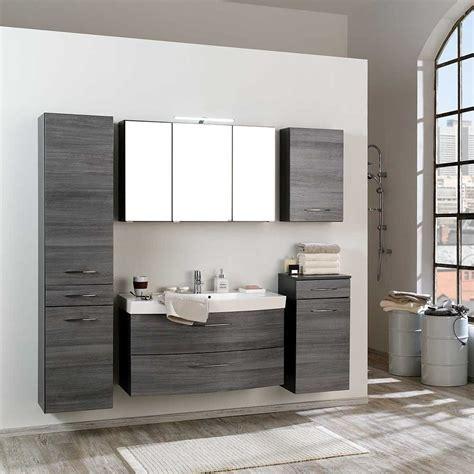 Badezimmer De by Badezimmer Komplettset Darina In Eiche Grau Wohnen De