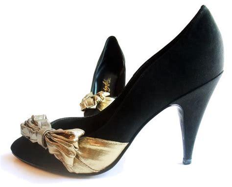 vintage evening shoes high spike heel from mysweetiepiepie on