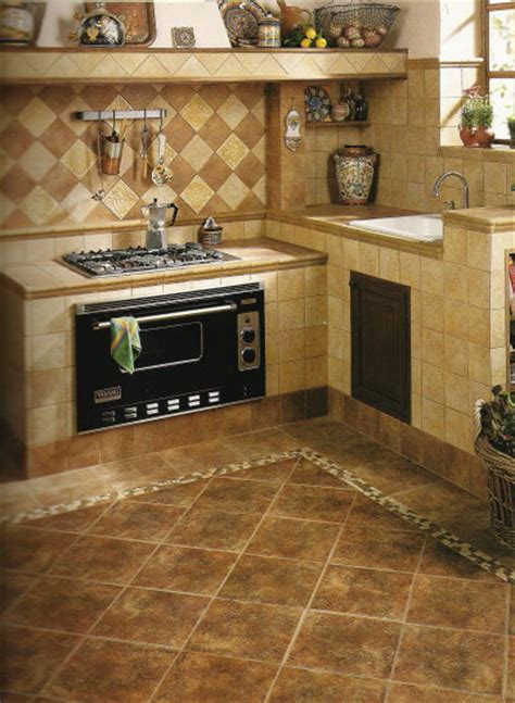 Kitchen Floor Tile Designs P J Kitchen Tile