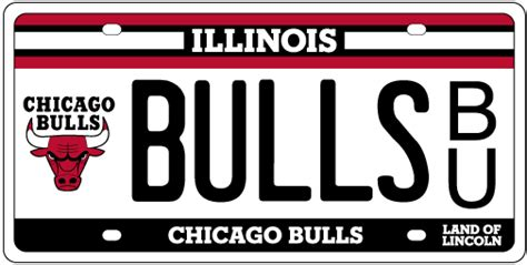 Cyberdriveillinois Vanity Plate by Chicago Bulls License Plates
