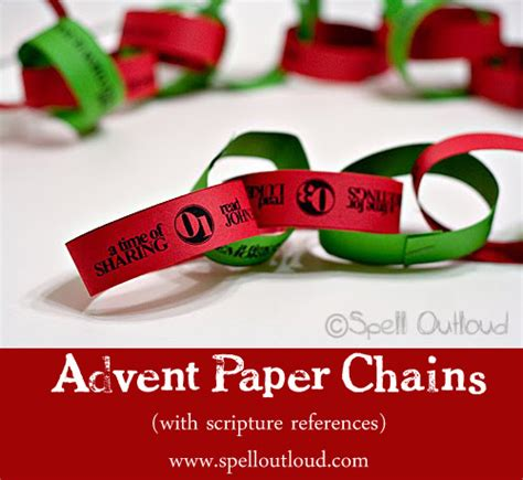 printable advent calendar paper chain advent paper chains an easy christmas craft spell out loud