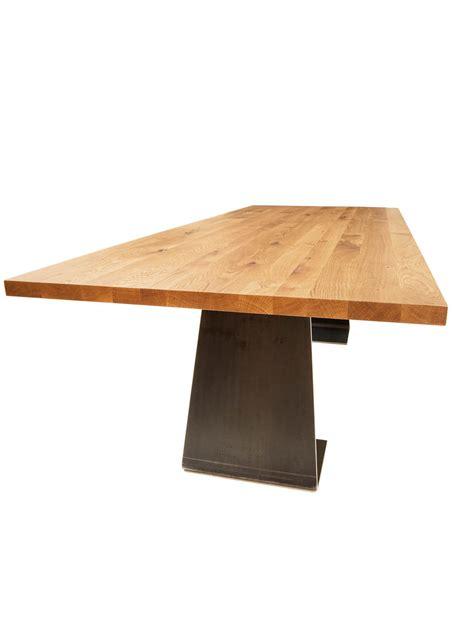 esstisch jolz zsteel design esstisch massivholz stahl esstisch eiche