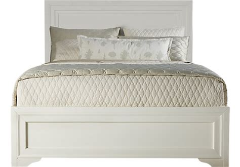 white bed queen belcourt white 3 pc queen panel bed queen beds white