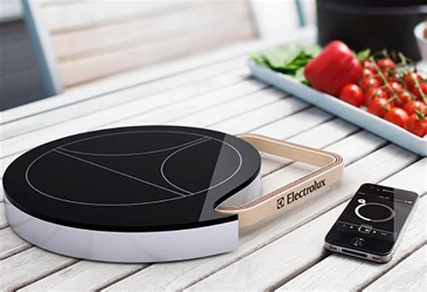 mobile induction heat plate electrolux design lab 2011 contest finalists