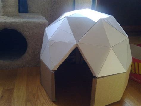 Outside Playhouse Plans by How To Make A Cardboard Play Dome Craft Projects For